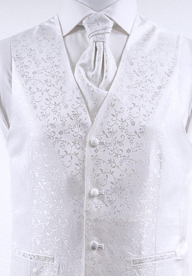 Weste für Hochzeitsanzug in der Farbe weiß